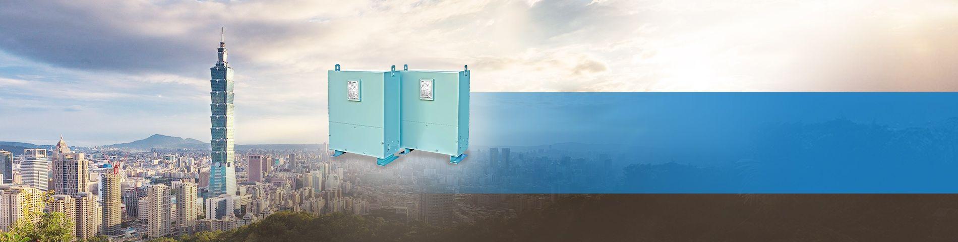 Non-Ventilated Resin-Cast Transformer for Taipei 101