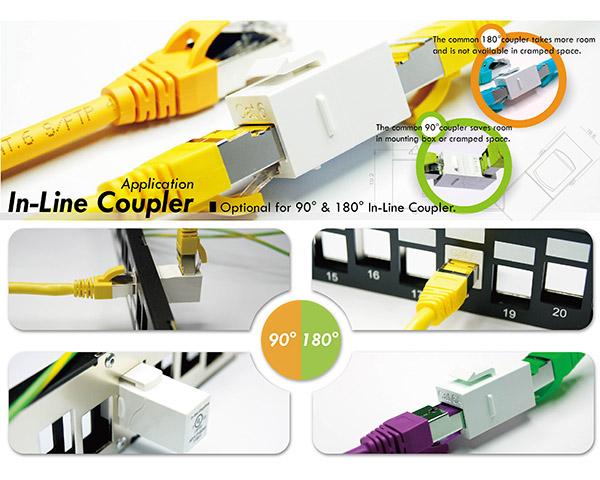 Inline Coupler Female Connectors