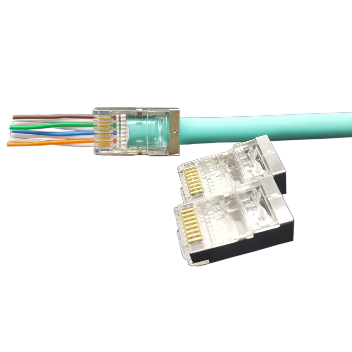 Cat6 STP Easy RJ45 Connector - Cat6 STP Easy Connector