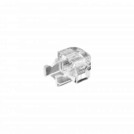 RJ45 Short Modular Plug Boot, Clear