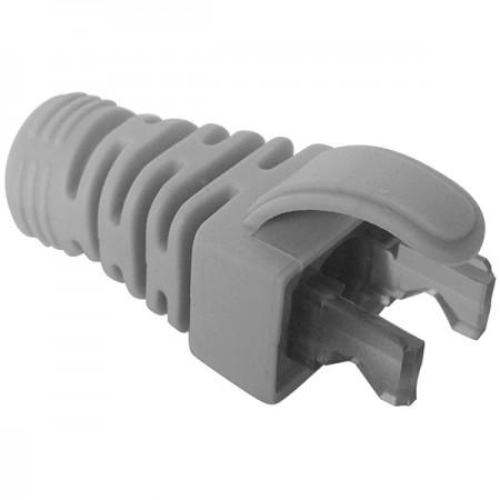 RJ45 وحدات التوصيل البلاستيكية لينة نهاية التوصيل التمهيد - لون RJ45 Plug Soft End Boot