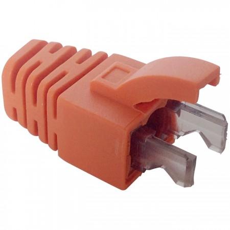 Color RJ45 Connector Flexible End Boot - Color RJ45 Plug Flexible End Boot