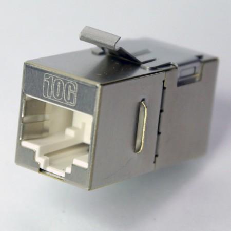 Cat.6A FTP 180 درجة مقرنة مضمنة