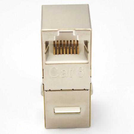 Katze. 6 FTP 90-Grad-Inline-Koppler