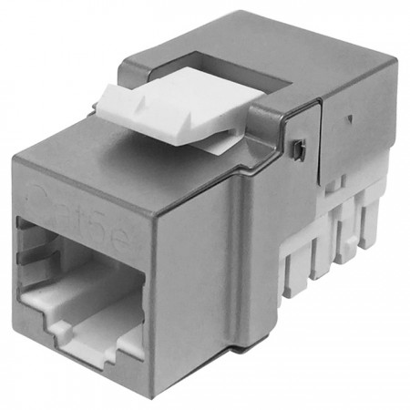 Cat5E FTP 90° 110 Punch Down RJ45 Keystone Jack - CAT5e FTP RJ45 Keystone Jack