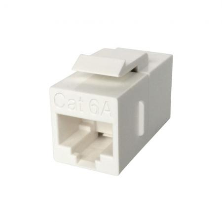 Cat 6A UTP 180 Degree Inline Coupler