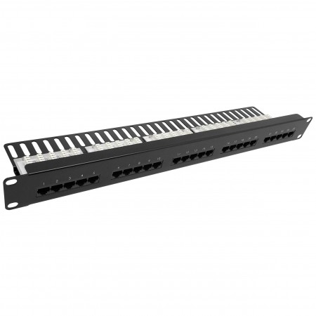 Cat3 25 Port Voice Panel Krone Type - Cat3 25port Voice Patch Panel