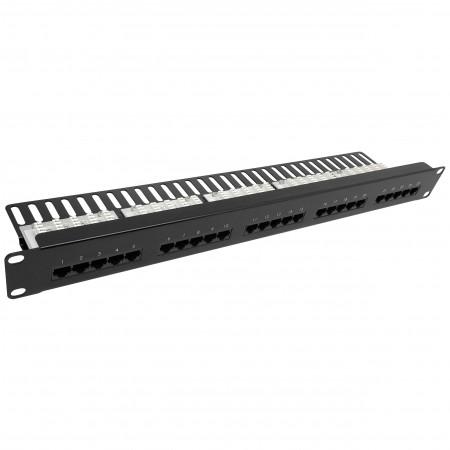 Cat3 25 portos hangpanel Krone típus - Cat3 25port Voice Patch Panel