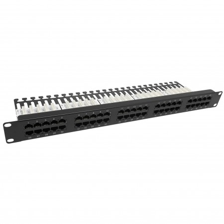 Cat3 50 Port Voice Panel - Cat3 50port Voice Patch Panel