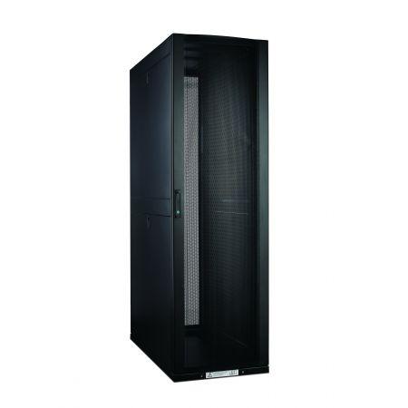 42U SPCC Server Rack Cabinet - خزانة خادم SPCC مع باب زجاجي مقوى أمامي مع قفل مقبض