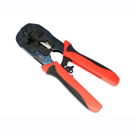 Crimpzange für RJ45 Durchgangsstecker - einfaches RJ45-Crimpwerkzeug