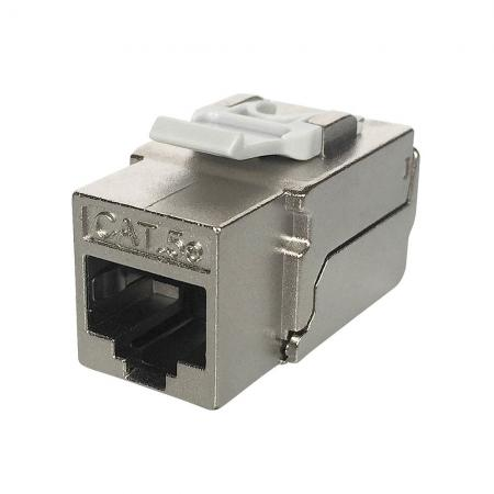 Cat5E STP 90° Tooless RJ45 Keystone Jack - C5e STP 90 degree tooless KSJ