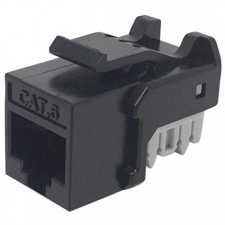 Cat6 UTP 90° 110 Punch Down RJ45 Keystone Jack