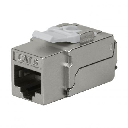 Cat6 STP 90°  110 Punch Down RJ45 Keystone Jack - Cat 6 STP 90 Degree 110 RJ45 Keystone Jack
