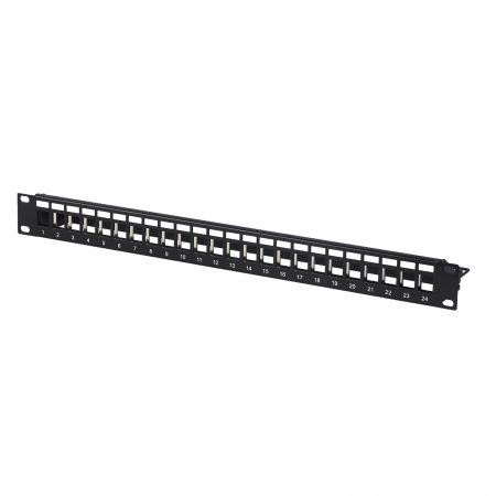 1U 24-Port-FTP-Blank-Patch-Panel
