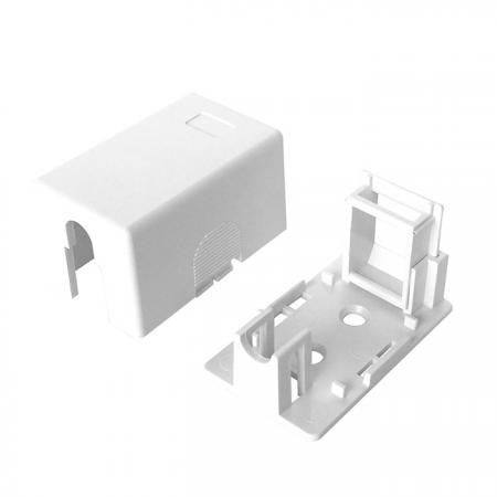 صندوق تركيب السطح 1 منفذ - صندوق تركيب السطح 1 منفذ