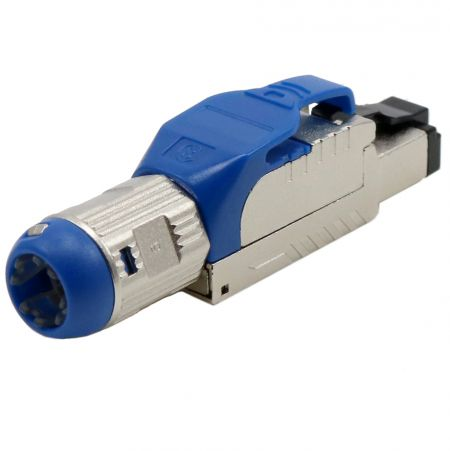 Cat8 STP Field Termination RJ45 Connector