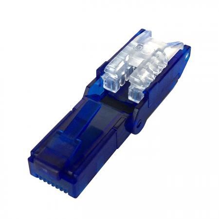 Cat.6 UTP forgatható szerszám nélküli térlezáró dugó