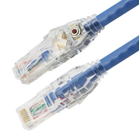Katze. 6 UTP 24 AWG LED-Patchkabel - Cat6 ungeschirmtes 24AWG LED-Patchkabel