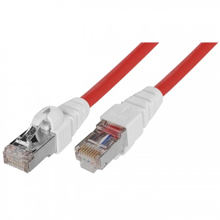Cat. 6A SFTP 26 AWG Easy Patch Cable - Cat 6A SSTP Easy Patch Cord