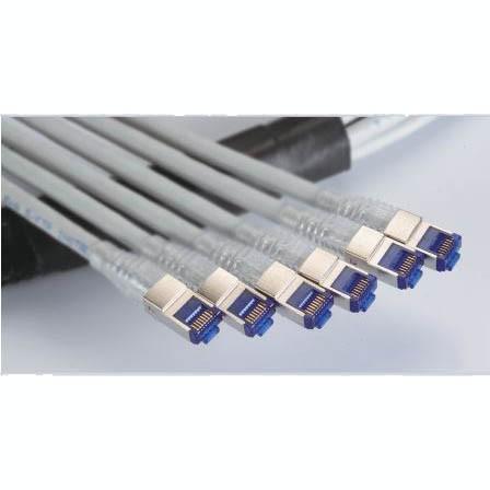 C6A SFTP 23AWG tömör vezetékes főkábel tömör vezetékes csatlakozóval - 6 portos törzsegységek, C6A SFTP tömör vezetékes kábel, tömör vezetékes csatlakozó