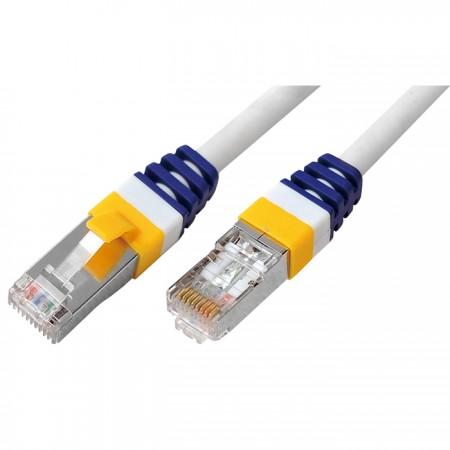 Kat. 6A S/STP 26 Gauge 10G patch kábel - Kat. 6A SSTP 26AWG réz RJ45 réz patch vezeték