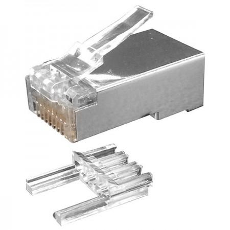 RJ45 Cat. 6 Plugs - Cat6 STP 8P8C Modular Plug