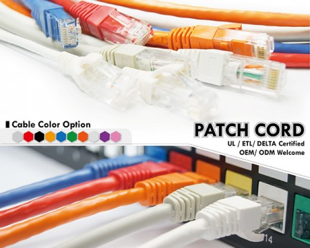 EXW Patch Cord - Cat5e Cat6 Cat6A Patch Cable