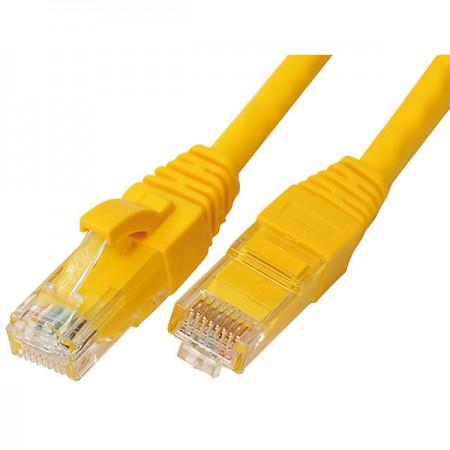CAT6 patch kábelek - Cat 6 patch kábel, sárga