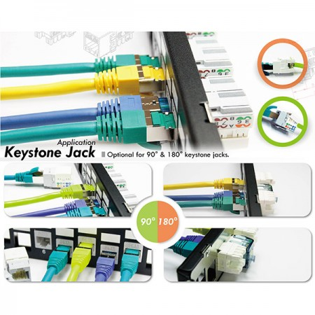 Cat 5e keystone Jack - Cat5e RJ45 Keystone Jack