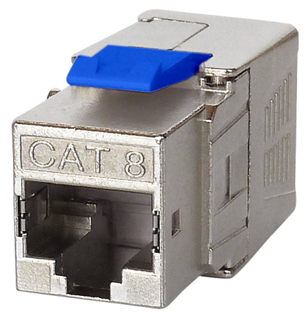 Cat 8 keystone Jack - Cat8 RJ45 FTP Toolless Keystone Jack