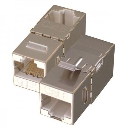 Cat. 6 Inline Couplers - C6 Keystone Inline Coupler