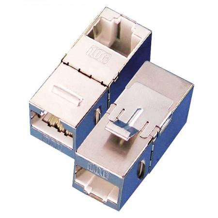 Cat. 6A Inline Couplers - C6A Keystone Inline Coupler