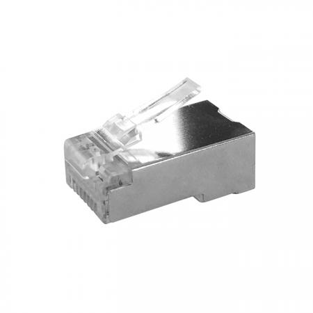 Cat 6A STP IL-2R Type RJ45 Connector With 3D Insert