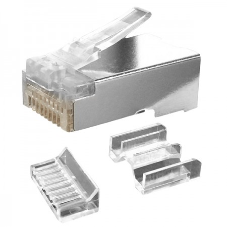 Cat 6A STP IL-3R Type RJ45 Connector - Cat 6A STP RJ45 CONNECTOR PLUG
