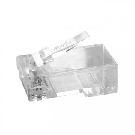Cat.6 UTP moduláris dugó teherrúddal