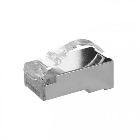 Cat6 STP RJ45 Connector With Arch latch - Cat6 STP RJ45 CONNECTOR PLUG