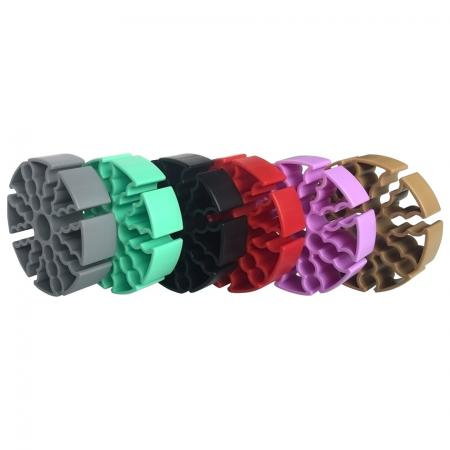 Network Colorful Cable Comb - Cable Organizer
