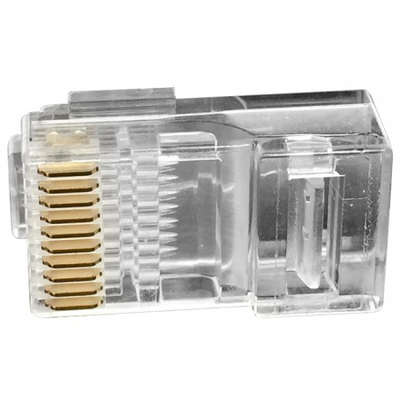 RJ48 10P10C dugók - 10P10C moduláris dugó kulccsal
