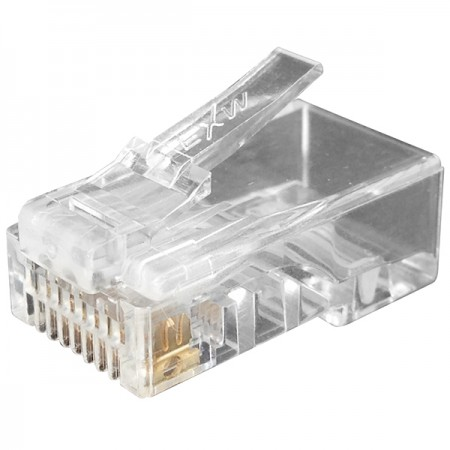 Cat6 UTP T Type RJ45 Connector - Cat6 UTP RJ45 CONNECTOR PLUG, ONE PC DESIGN