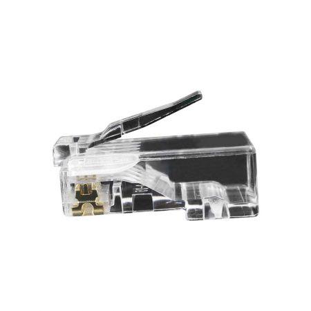 Katze. 5E UTP-Modularstecker - Cat5e UTP RJ45-Anschluss