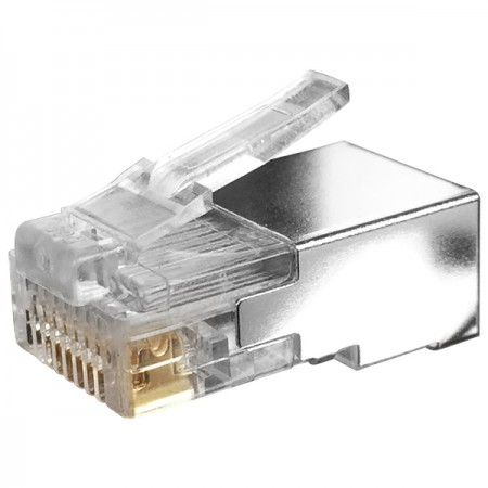 Cat. 5E STP Half Shielded Modular Plug - Cat5e Half Shielded RJ45 Connector