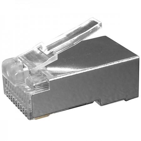 Macska. 5E FTP moduláris dugó - Cat5e STP RJ45 csatlakozó