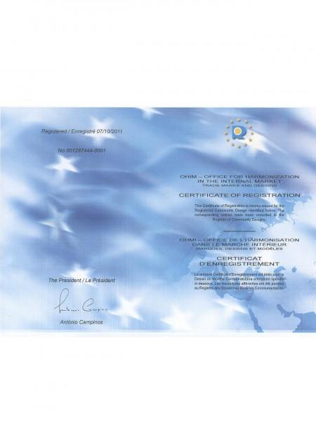 Abschließbares Patchkabel EU-Patent