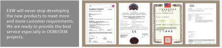 EXW does have some patent of our products.
