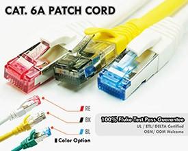 Cat6A SFTP patch kábel
