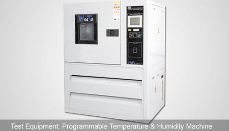 Programmable Temperature & Humidity Machine
