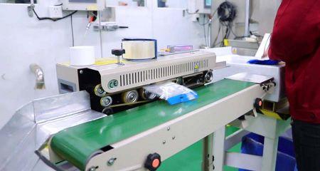 Félautomata tömítőgép