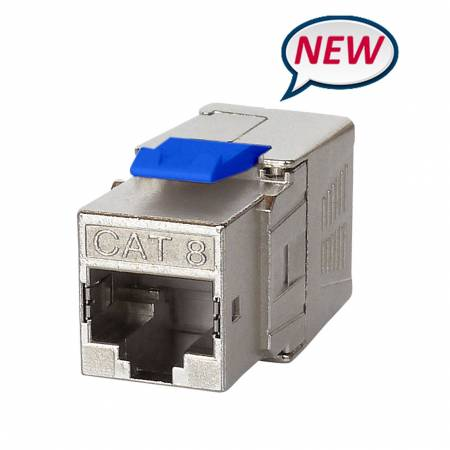 Cat8 RJ45 FTP Toolless Keystone Jack