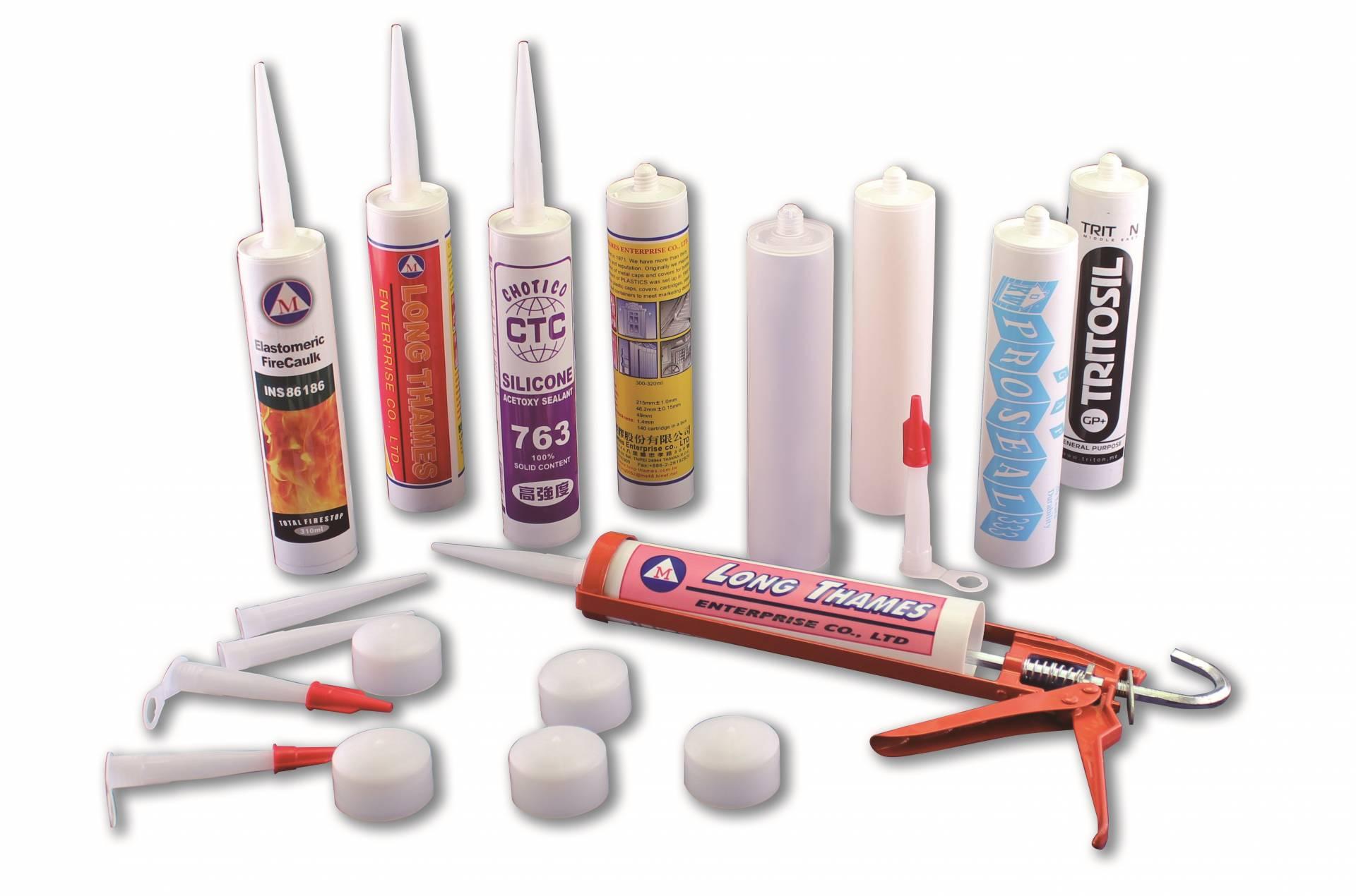 Printed Cartridge - PE Cartridge for Silicone Sealant - PE Cartridge for Silicone Sealant - Printed Cartridge